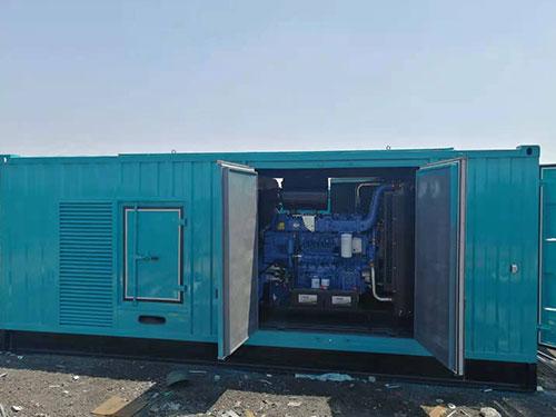 发电机组静音箱1
